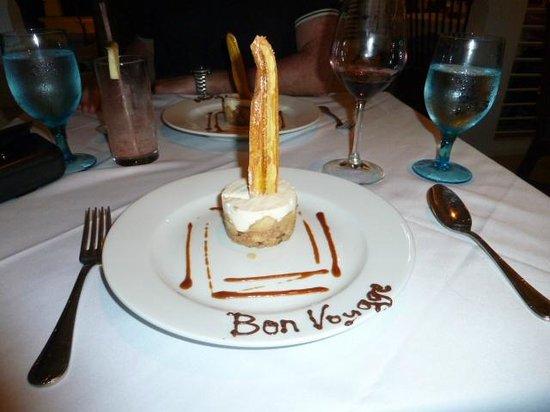 BodyHoliday Saint Lucia: dessert!