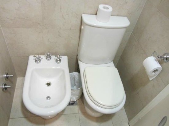 Rochester Hotel Calafate: baño moderno
