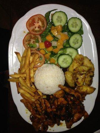 Sugar Restaurant and Bar: Jerk chicken!!!