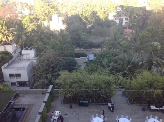 JW Marriott Hotel Pune: view from room window