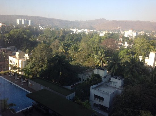 JW Marriott Hotel Pune: view from room