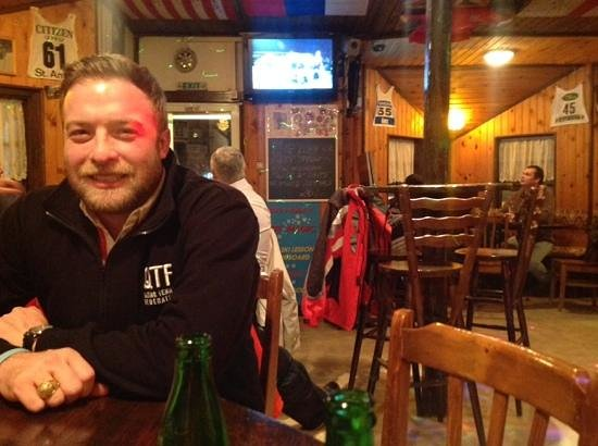 andrew at White Magic Restaurant, Borovets Bulgaria - Picture of The