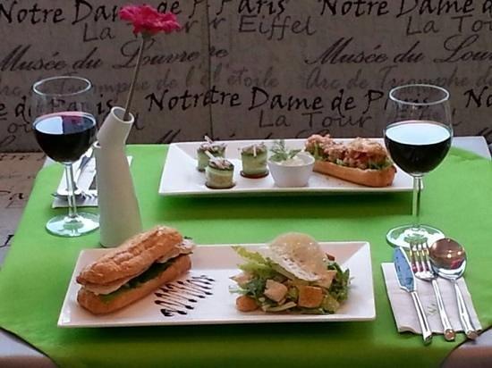 RinB Restaurant In Box : savory eclairs