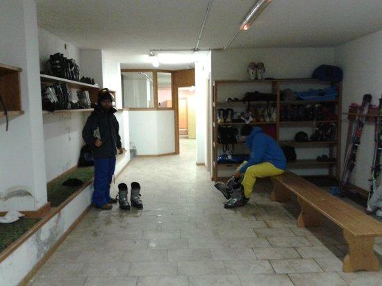 Hotel Residence 3 Signori : Ski room