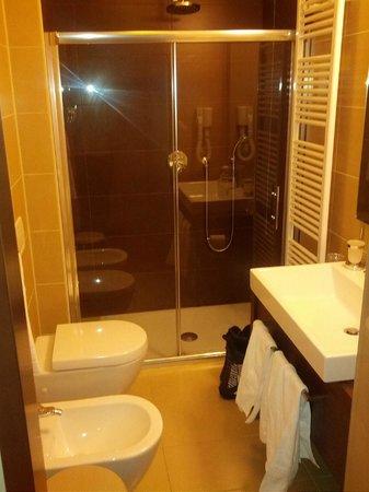 Hotel Antelao Sport & Wellness : Doccia