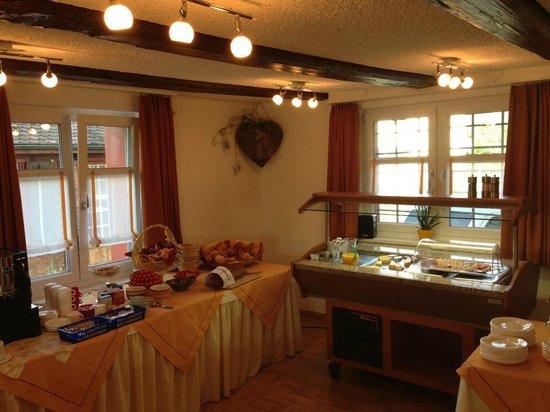 Hotel Garni am Lindeneck: Le buffet du petit-déjeuner