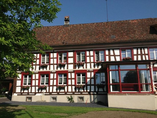 Hotel Garni am Lindeneck: La façade de l'hôtel côté est
