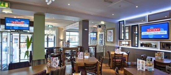 Yates: Dining area