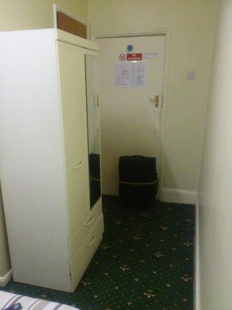 Stanley House: Door, closet, bathroom