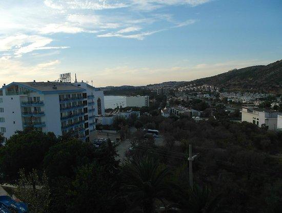 Blue Vista Hill Hotel : что видно слева