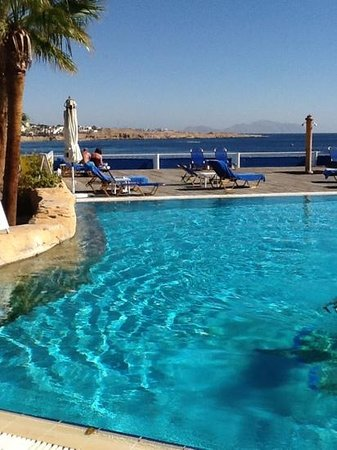 Lido Sharm Hotel: view from the bar