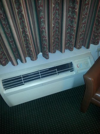 InTown Suites Greensboro Extended Stay Hotel: Broken Heating system
