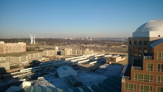 The Ritz-Carlton, Pentagon City : view from room