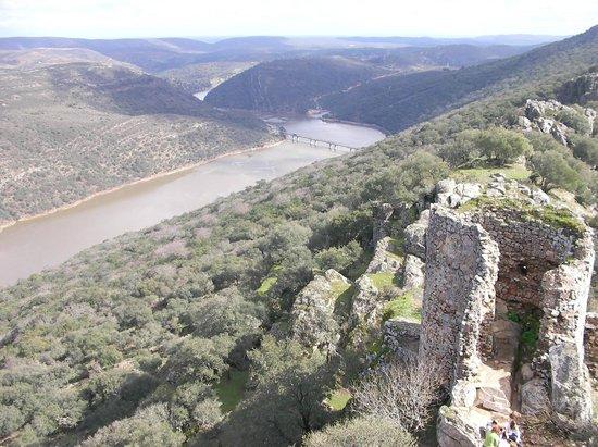 Monfrague National Park: Vistas desde el Castillo de Monfragüe