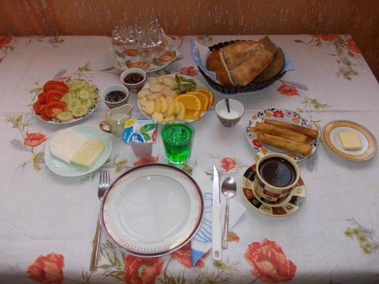 Hotel Chubini : Завтрак