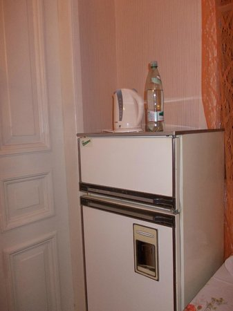Hotel Chubini: холодильник