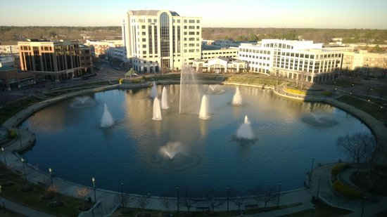 Newport News Marriott at City Center: view from room (in January 2014)