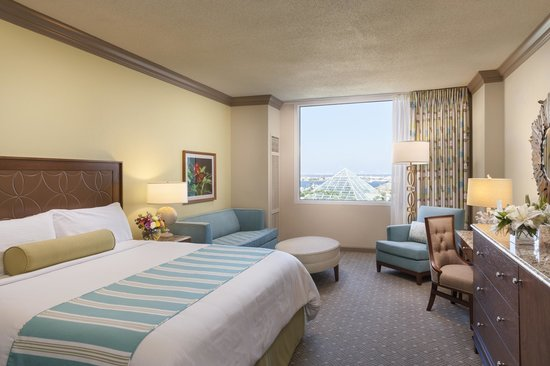 Moody Gardens Hotel Spa & Convention Center: King Room
