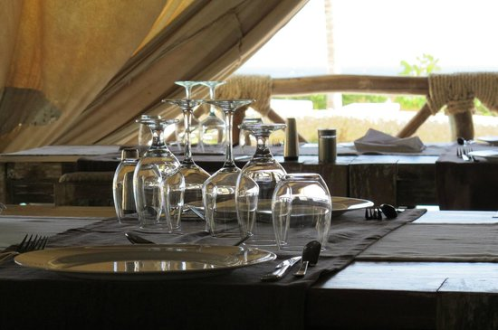 Mawe Resort: ristorante