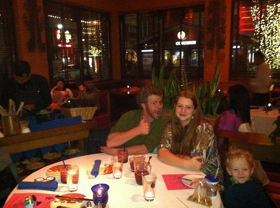 Rosa Mexicano Atlanta Birthday Boy And One Of Two Children Nice Atmosphere