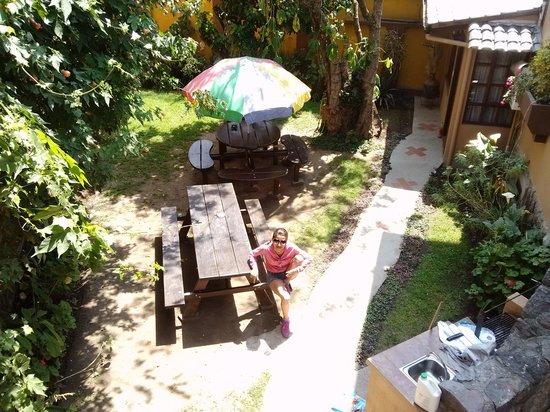 El Arupo: En el jardincito