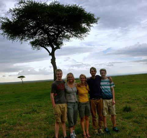 Oldarpoi Mara Camp : safari - they arranged it all