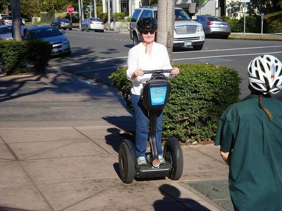 Segway of Coronado: Getting instructions & practice before beginning the tour