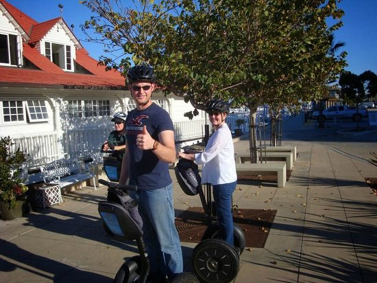 Segway of Coronado: During the tour of the harbor