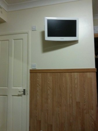 Huttons Hotel: Che tv