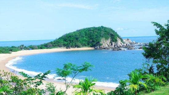 Secrets Huatulco Resort & Spa: VISTA DESDE LA HABITACION