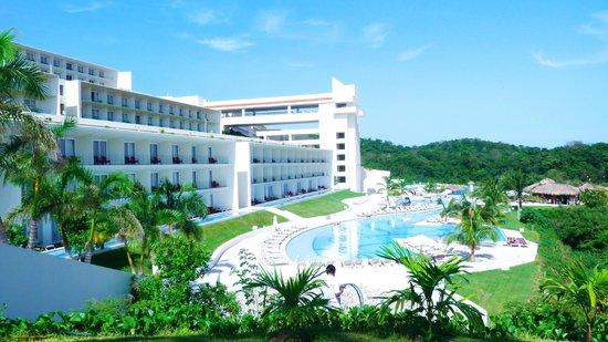 Secrets Huatulco Resort & Spa: VISTA PANORAMICA