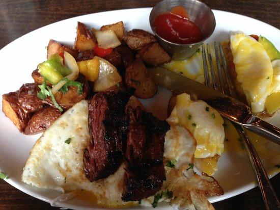 Teqa: Steak and Eggs
