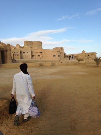 Adrere Amellal: Desert Ecolodge: Llegada