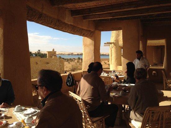 Adrere Amellal: Desert Ecolodge: Desayuno