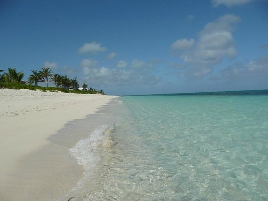 Atlantic Ocean Beach Villas: the beach and water in front of our villa
