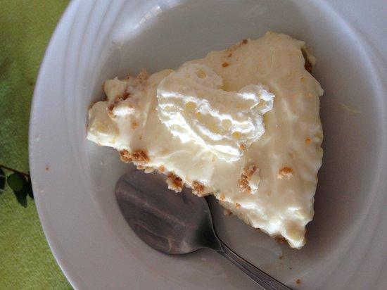 The Rovers Return Inn: Lemon cheesecake Xmas day