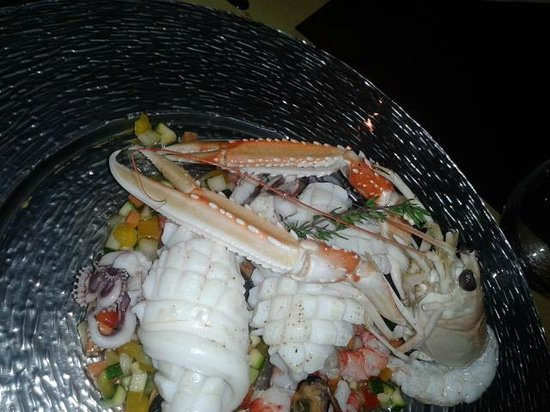 Capo d'Africa Hotel: seafood starter