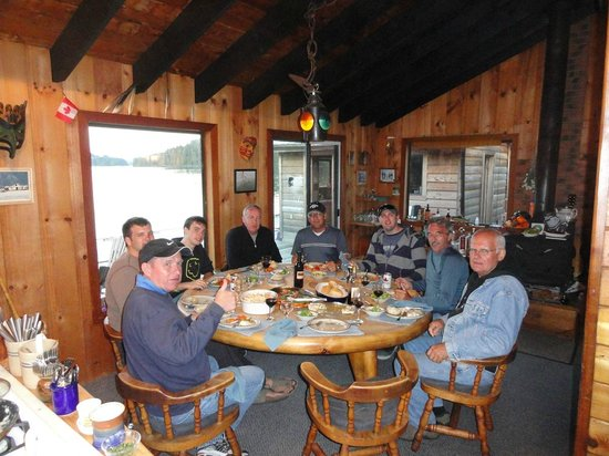 Coastal Springs Float Lodge: Another Excellent Meal!