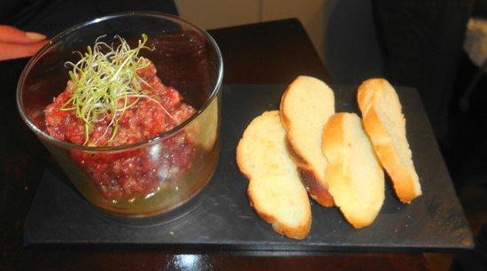 Taberna del Chato: Steak tartar