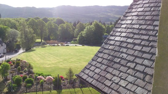 The Lovat, Loch Ness: view from the room