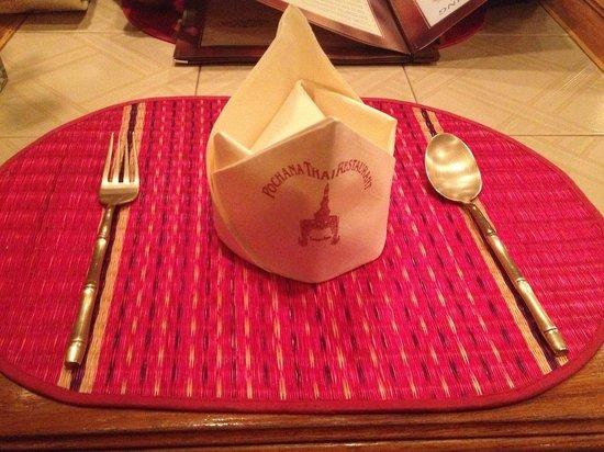 Pochana Thai Restaurant: Table arrangements