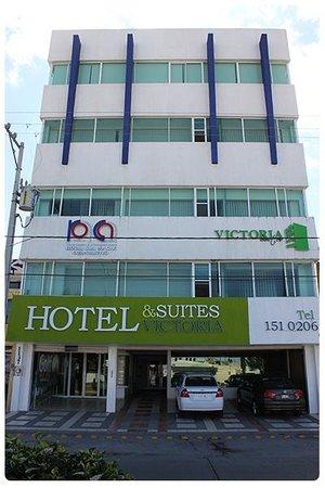 Hotel & Suites Victoria: Fachada del hotel