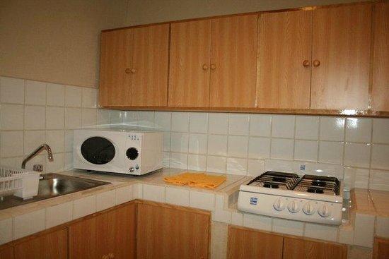 Hotel & Suites Victoria: Parte de la cocina