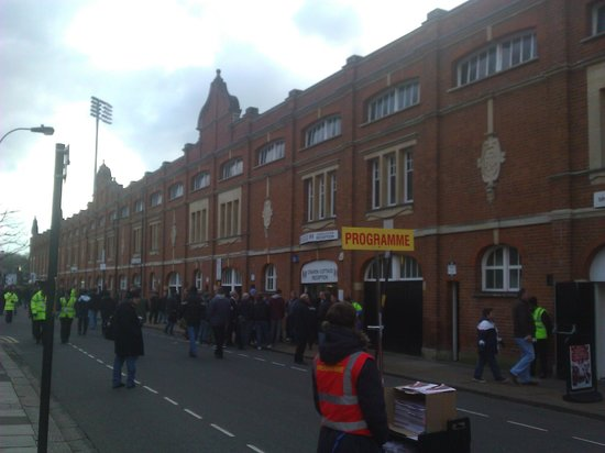 Craven Cottage: Вид на стадион