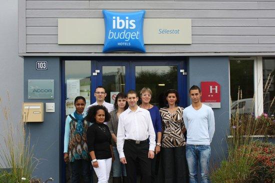 Ibis Budget Sélestat : Une équipe motivée à votre service