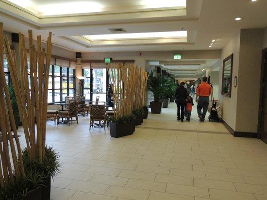 Buena Vista Suites: Pasillo al comedor