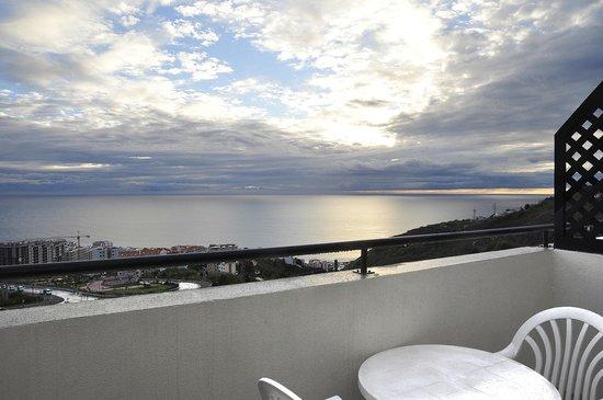 Vila Marta: vista2 dal balcone della ns stanza al 3° piano