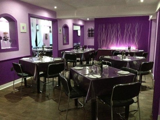 The Purple Bistro: restaurant