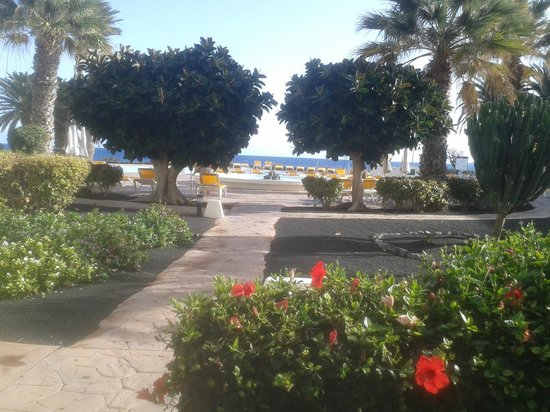 IBEROSTAR Lanzarote Park - TEMPORARILY CLOSED : view from terace
