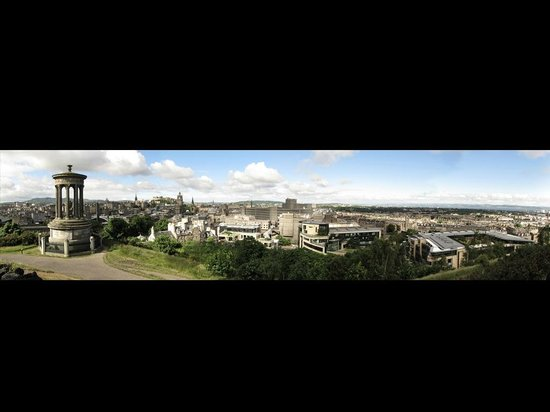 Calton Hill: Panoramic picture